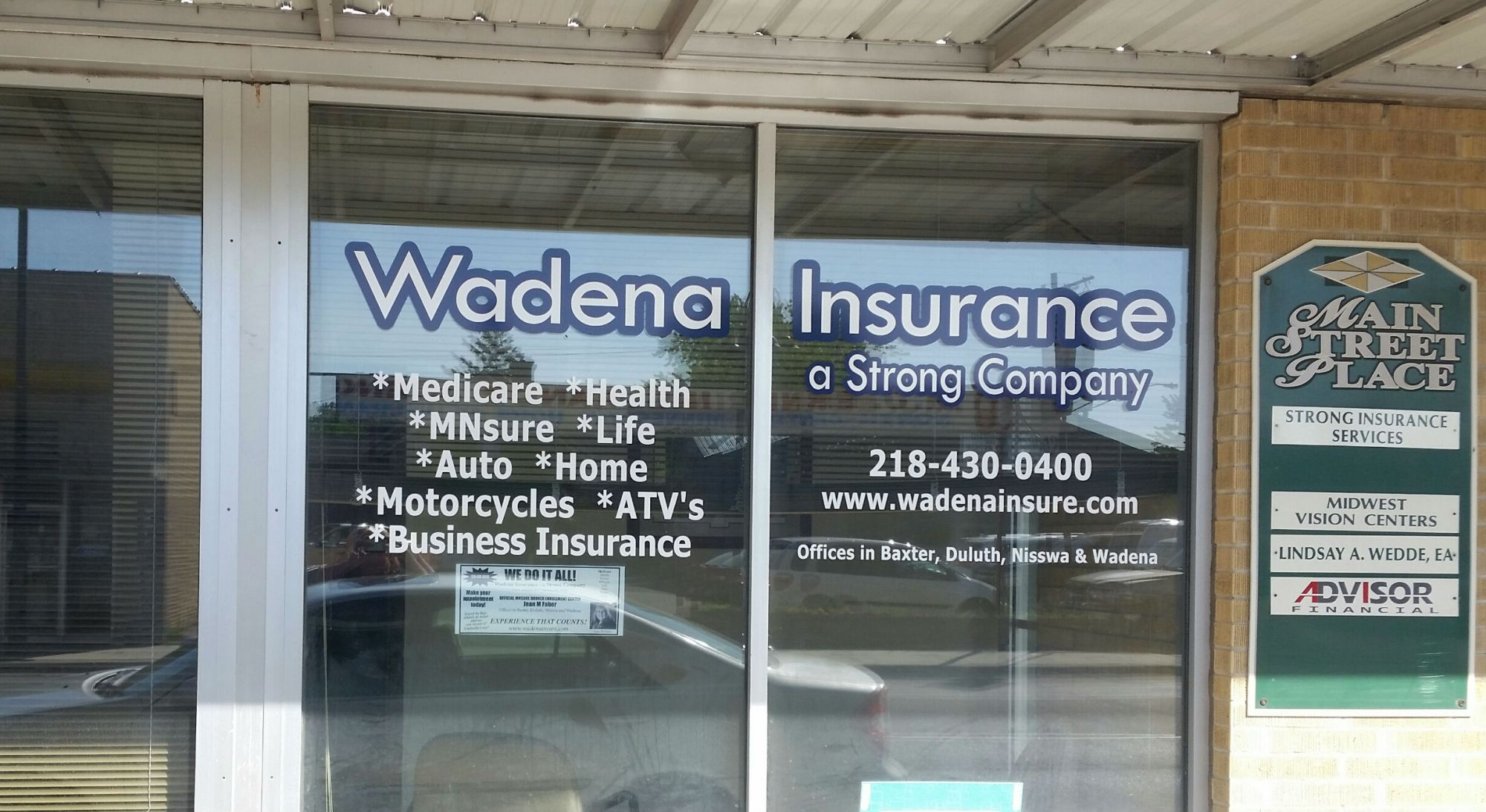 Strong Insurance of Wadena